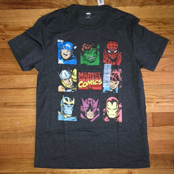 Old Navy Shirts Mens Marvel Graphic T Poshmark